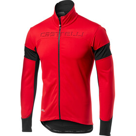 Castelli Transition Jas Heren, red/black